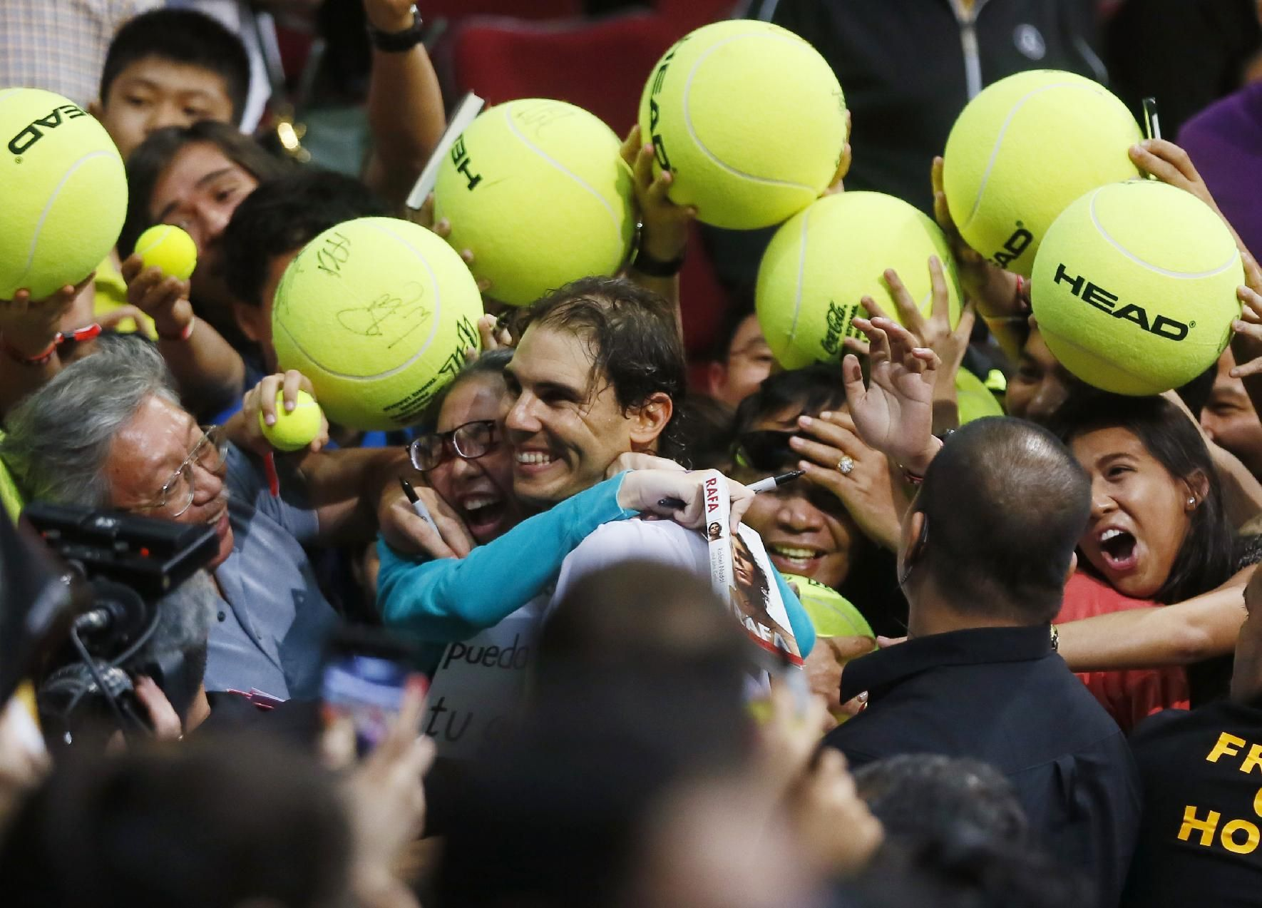 Rafael Nadal, the marquee signing and captain of the Indian Aces, made his IPTL debut today, walking onto court to thunderous applause and cheers from the Manila crowd. Our champ won both his sets,...