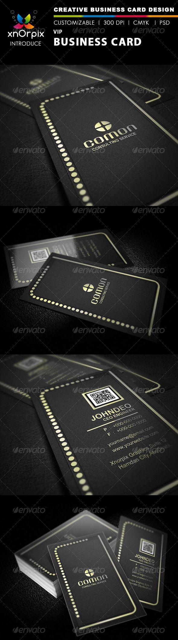 Vip business card vip business cards and business card templates vip business reheart Choice Image