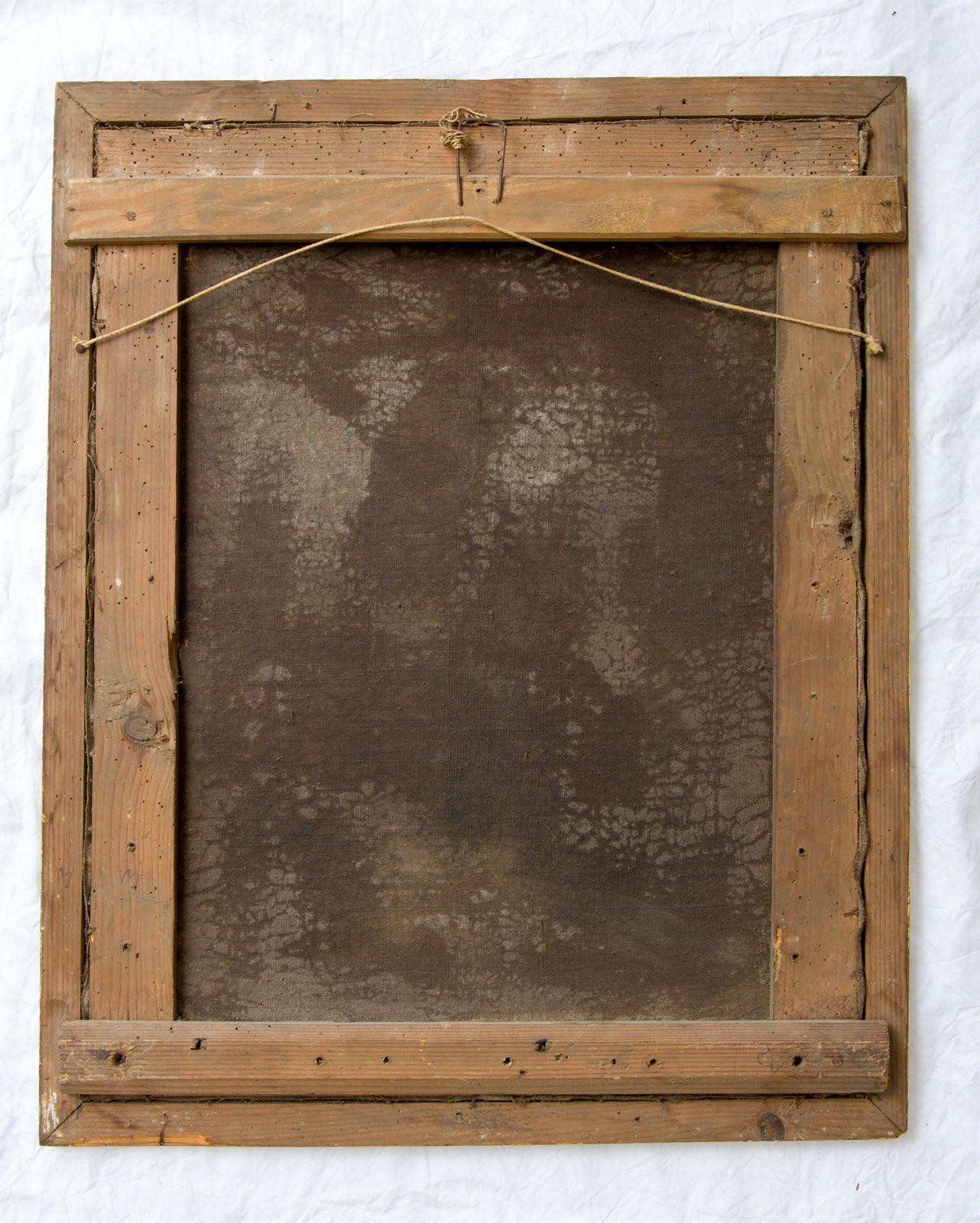 Antikes Barock Rokoko Gemälde Rahmen 18. Jahrhundert. Öl Leinwand ...