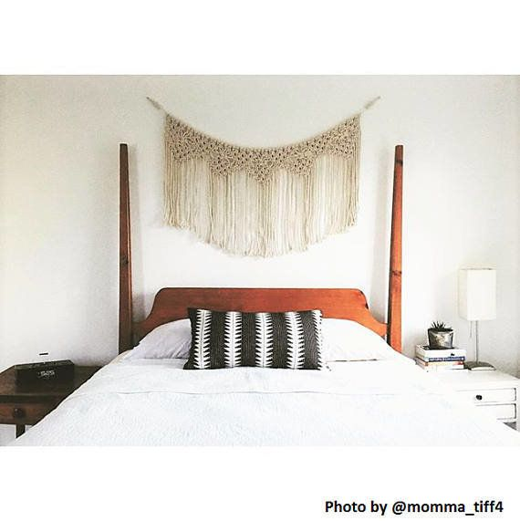 14 over the bed wall decor ideas in 2019 headboard decor - Wall art above bed ...