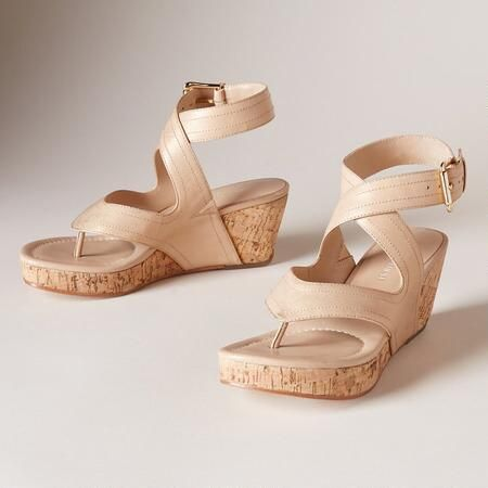 e412c186841 ALMA SANDALS -- Dusted with a subtle golden shimmer
