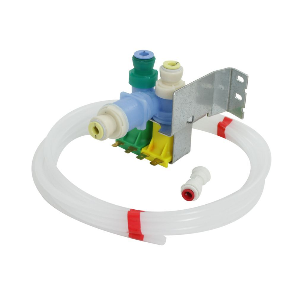 Water Inlet Valve Wr57x10051 Order Now For Same Day Shipping 365 Day Return Policy Repairclinic Com Ice Maker Repair Refrigerator Ice Maker Fridge Repair