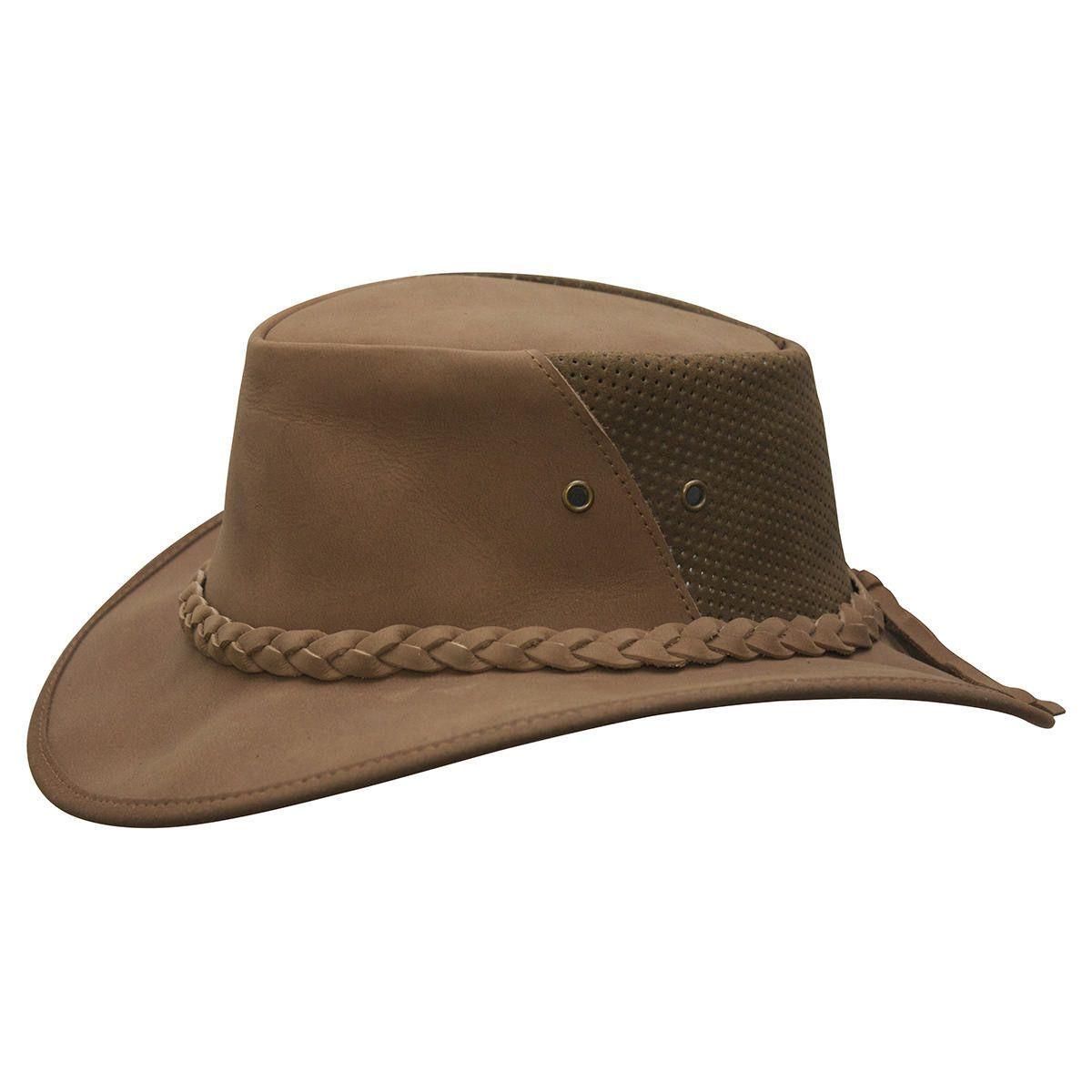 Unisex Cotton Wide Brim Aussie Sun Cap Australian Style Summer Hat