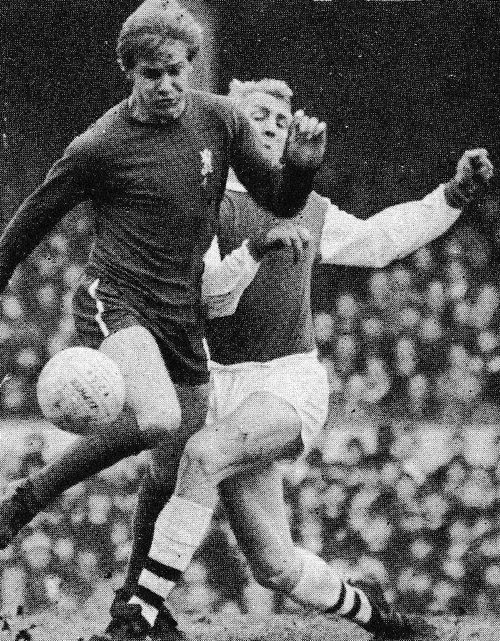 30th December 1967. Chelsea inside forward Alan Birchenall ...