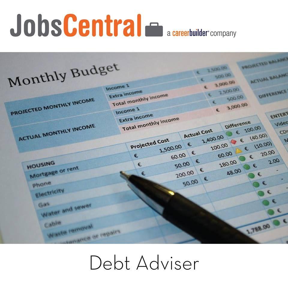 100glamorousjobs jobs career debt adviser by