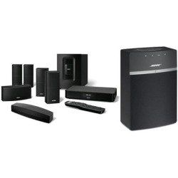 Soundtouch 520 Home Theater System Bundle With Bose Soundtouch 10 Wireless Music System With Remote With Images Bose Home Theater Home Theater System Home Cinema Systems