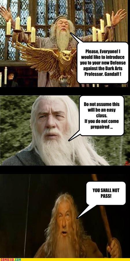 Gandalf Humour