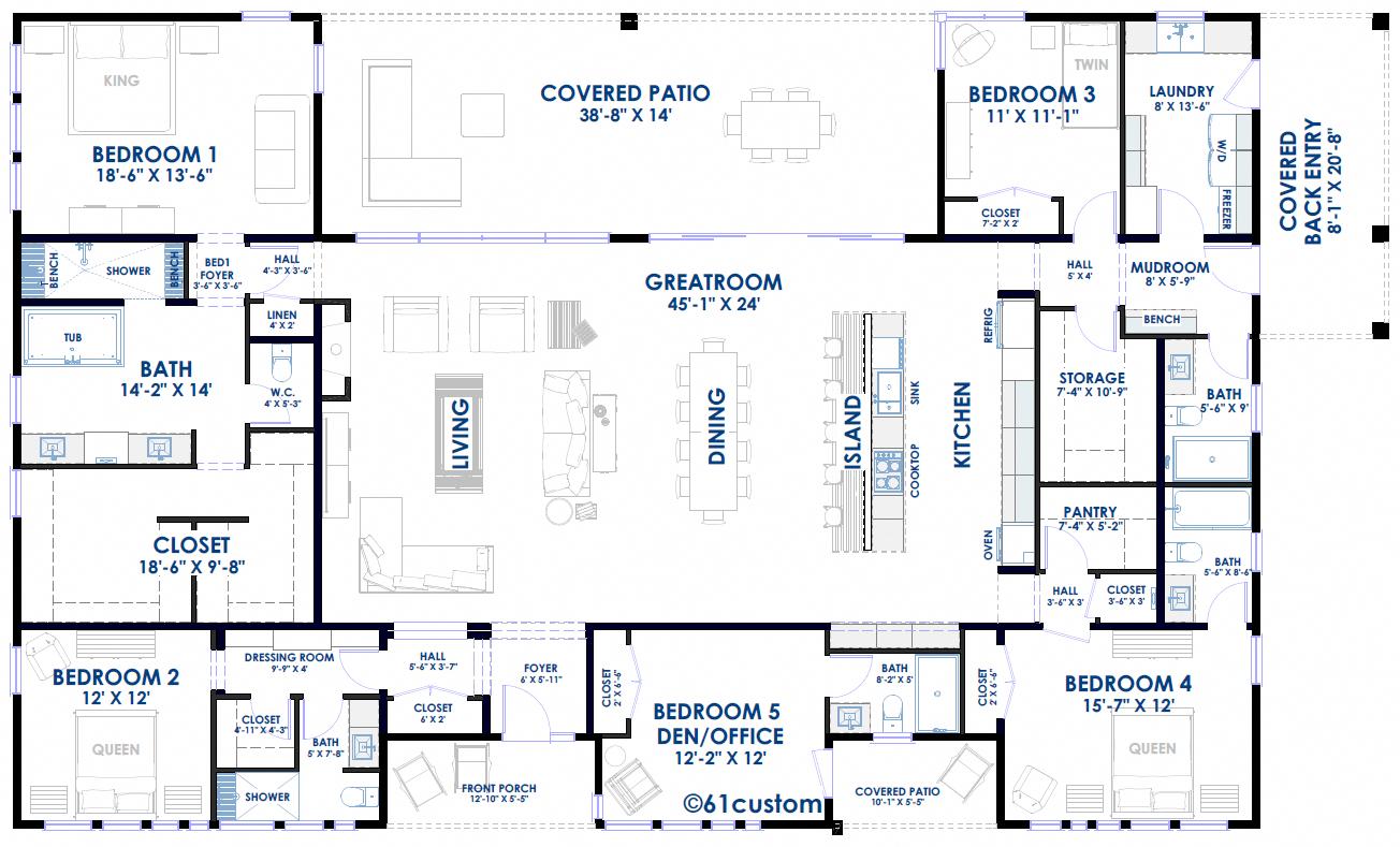farmhouse33 | optional 5th bedroom #DecoracióndeSalones ...