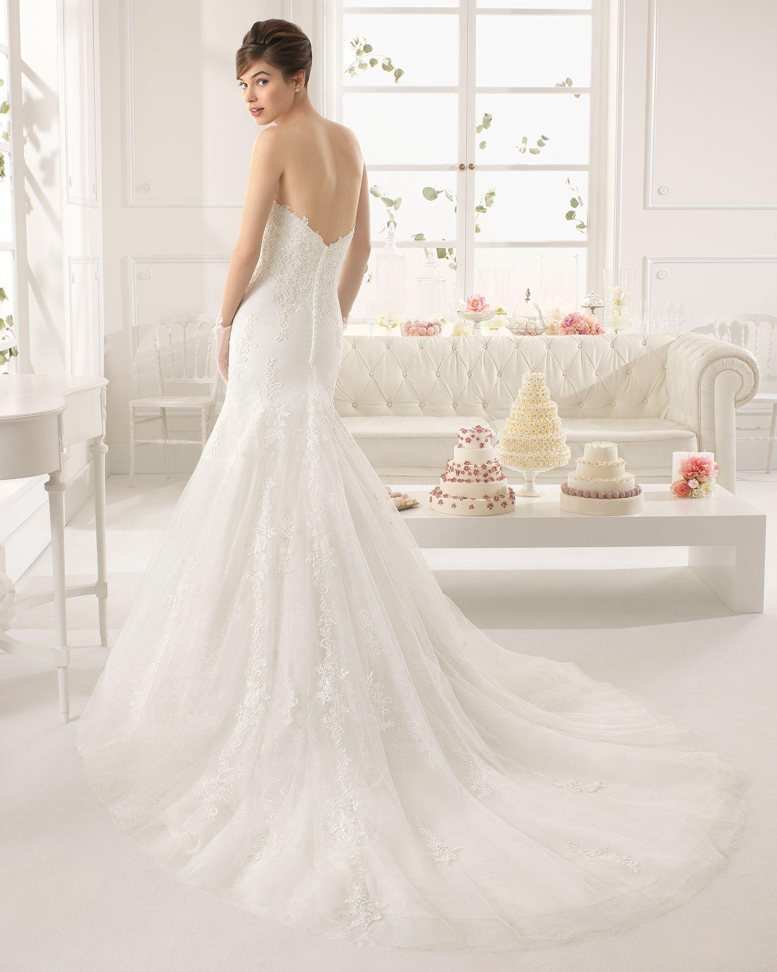 Alteza vestido de novia corte sirena | Wedding Ideas | Pinterest ...