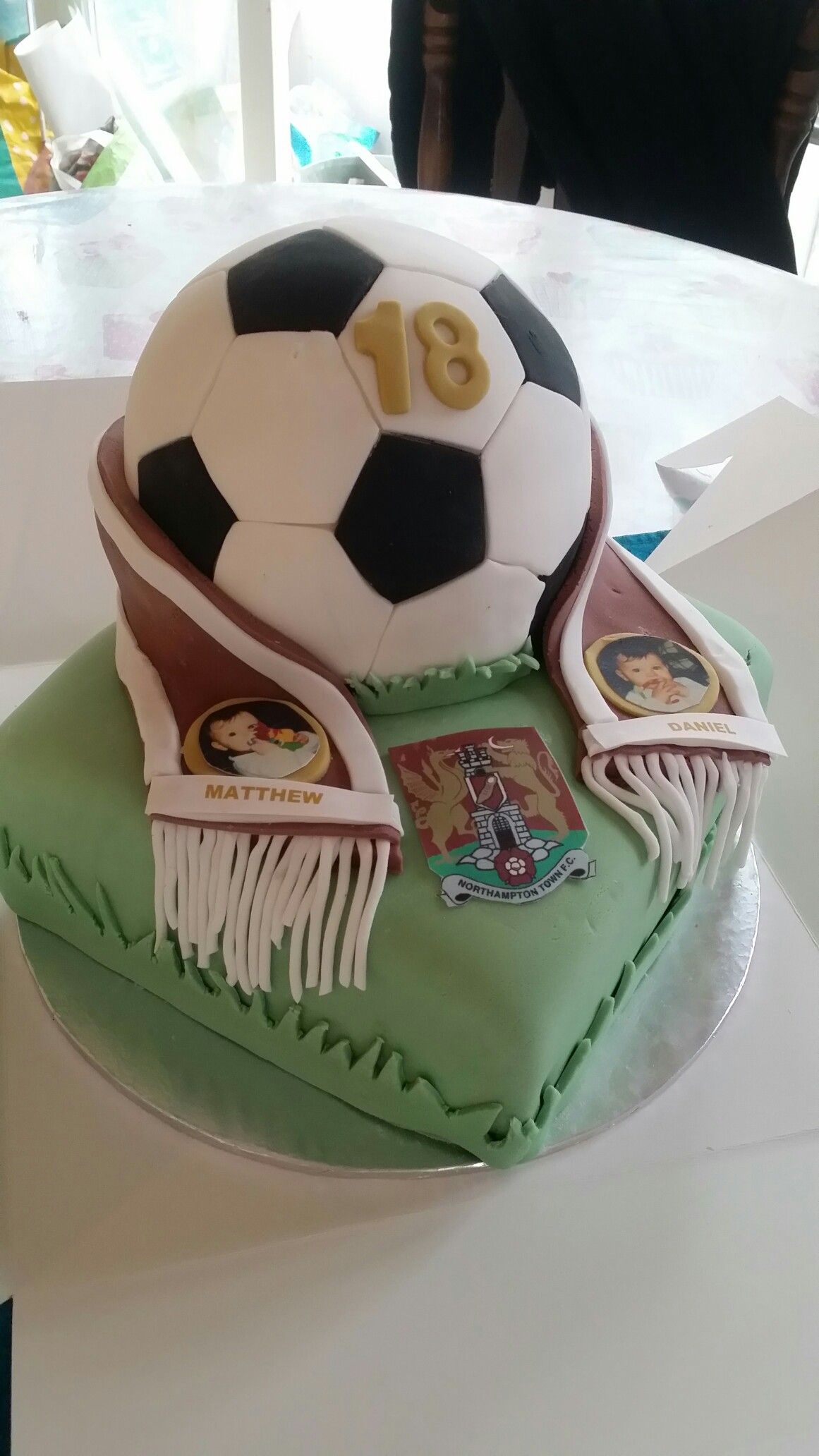 Northampton Town Fc Football Cake