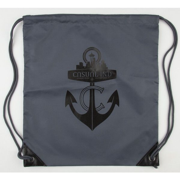CASUAL INDUSTREES Anchor Cinch Sack ($9.99) ❤ liked on Polyvore
