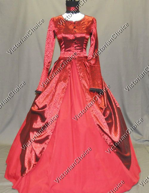 a4f79396ec7 Beautiful Scarlett O Hara dress! High Quality Victorian Dress Royal Queen  Witch Brocade Ball Gown Theatrical Clothing 156