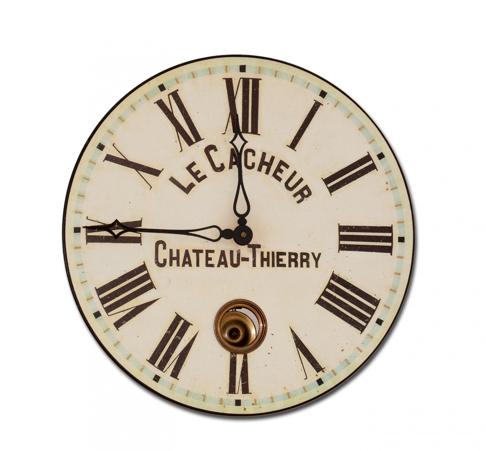 vintage french wall clock wallpaper download full free