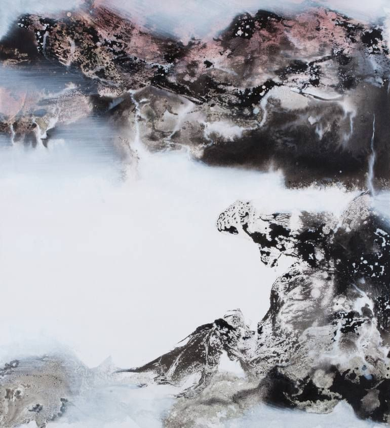 Enchanting Calvin Chih-Hao Teng Taiwan Painting Size: 39.4 H x 35.4 W x 2 in