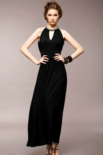 Maxi length party dresses