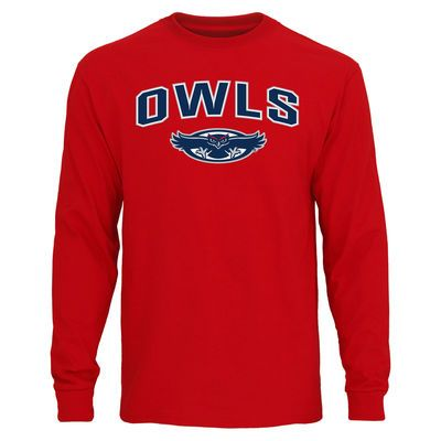 FAU Owls Youth Got Game Long Sleeve T-Shirt - Red  6bc16f565