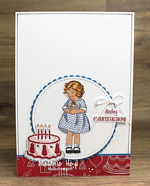 Stampin Up Birthday Delivery Card