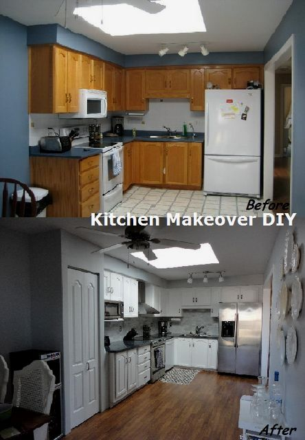 New and Cheap Kitchen Makeover DIY ideas on a budget ...