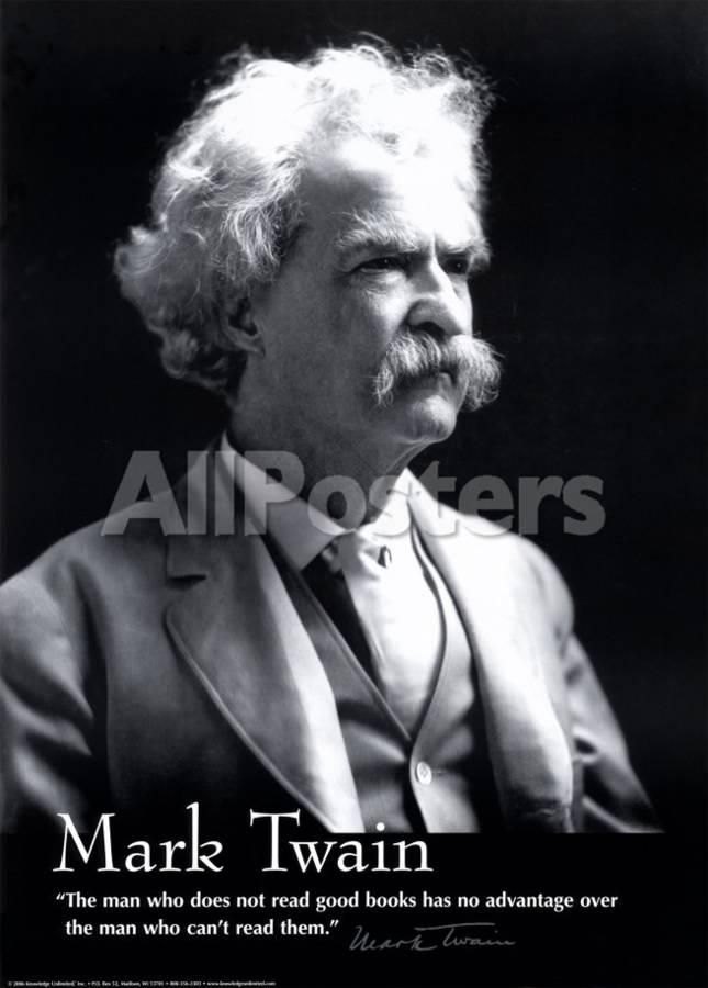 'Mark Twain' Prints - | AllPosters.com