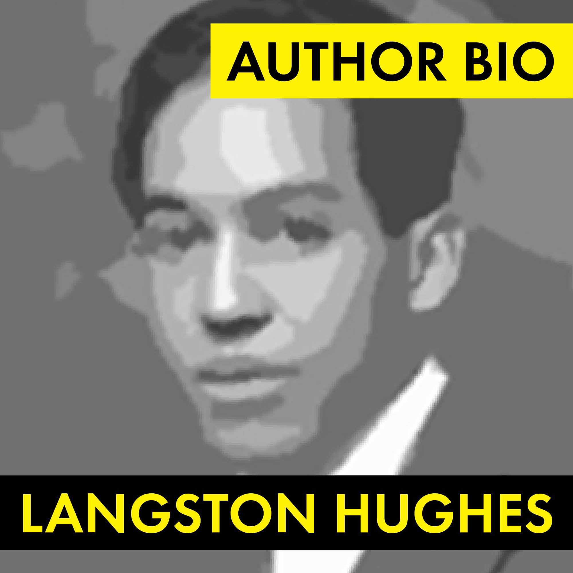Langston Hughes Author Study Worksheet Easy Biography
