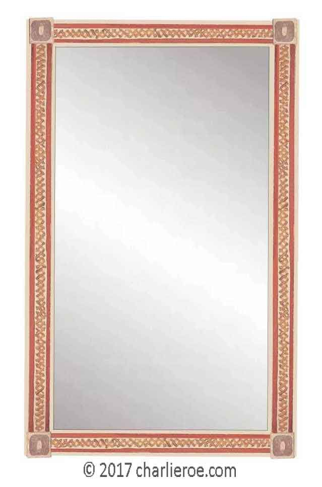 TDS The Design Service - new Bloomsbury Group style painted mirror ...
