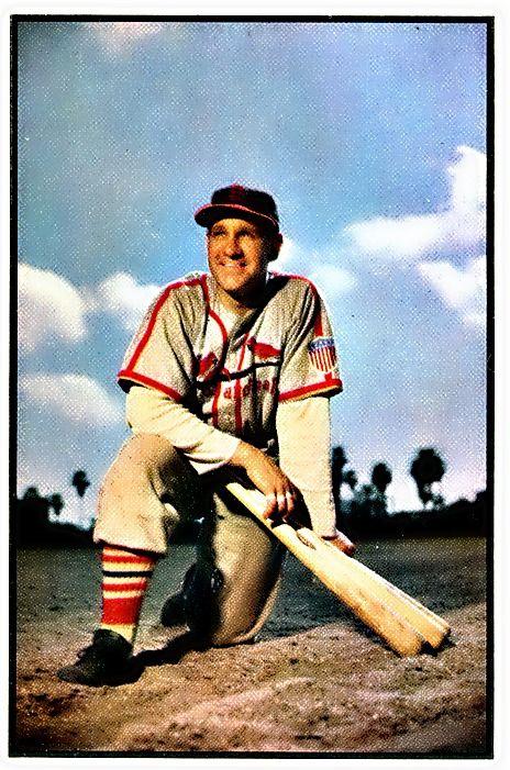 81 Enos Slaughter St Louis Cardinals Cardinals Baseball Baseball Cards Baseball Award