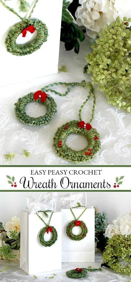 Photo of Easy Peasy Crochet Lamb Ornaments   Grateful Prayer   Thankful Heart