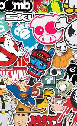 Custom Vinyl <span>Stickers</span> | Random | Stickers