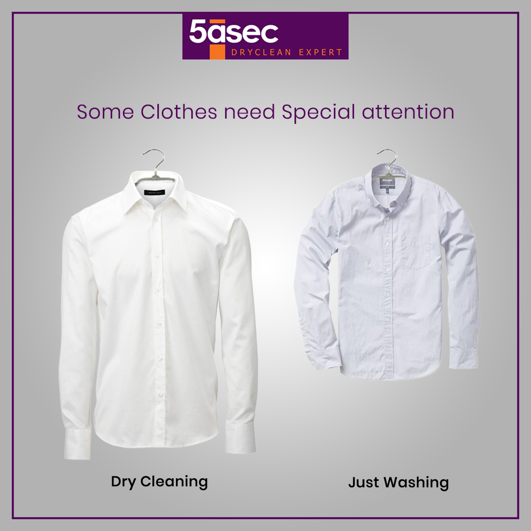 Just Washing Is Not Enough For Your Favorite Clothes Dryclean Is