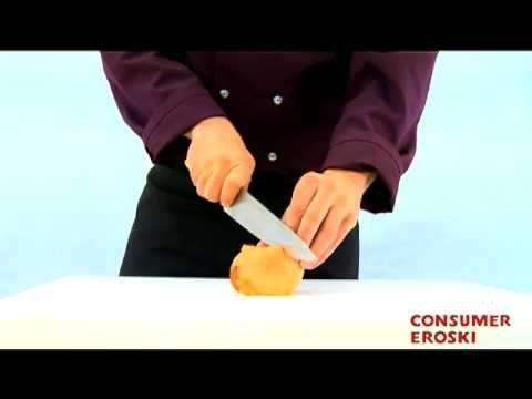 T cnicas b sicas de cocina c mo cortar en juliana youtube t cnicas de cocina pinterest - Tecnicas basicas de cocina ...