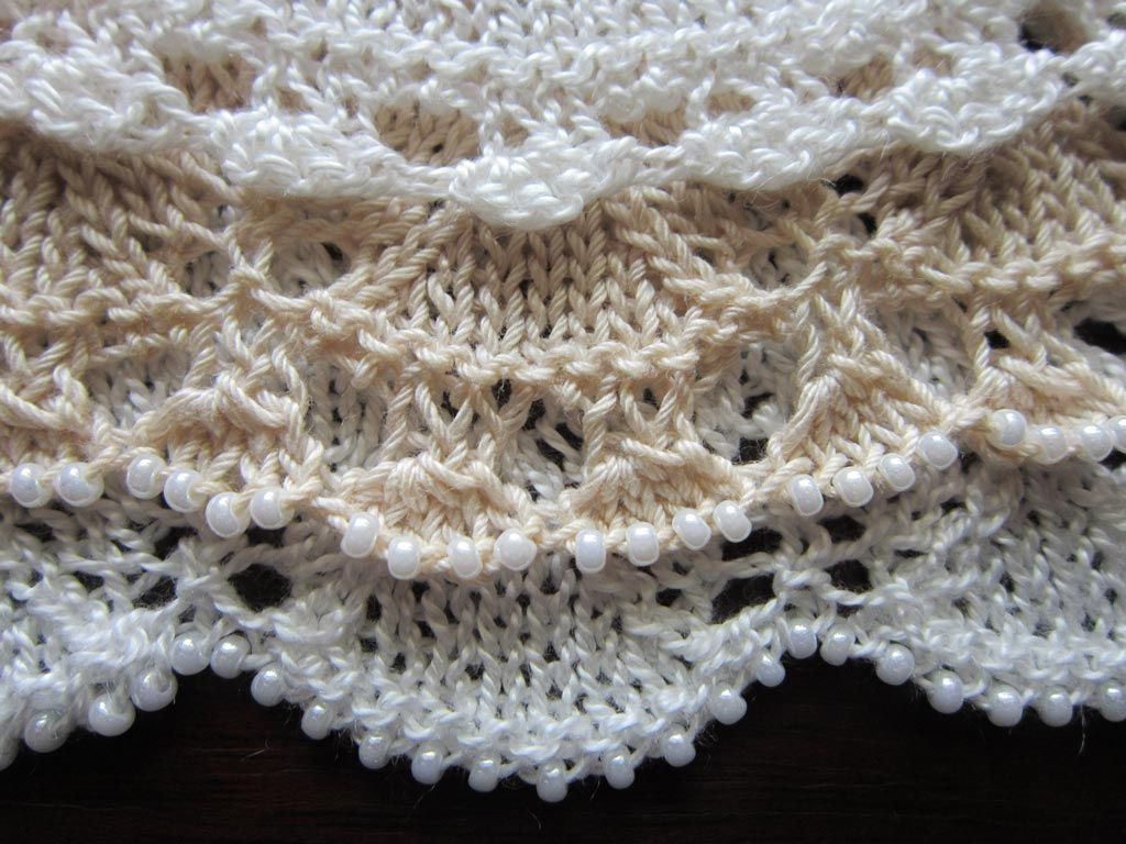 Edging Options | Beads, Crochet and Stitch