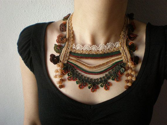Primula Alpicola ... Beaded Crochet by irregularexpressions, $198.00