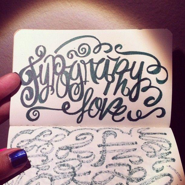 Typography @MagicMaia