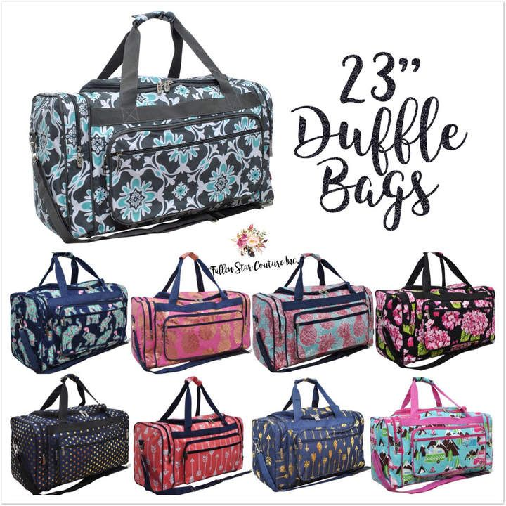3fdbc8a0e7 Etsy Personalized Duffle Bags