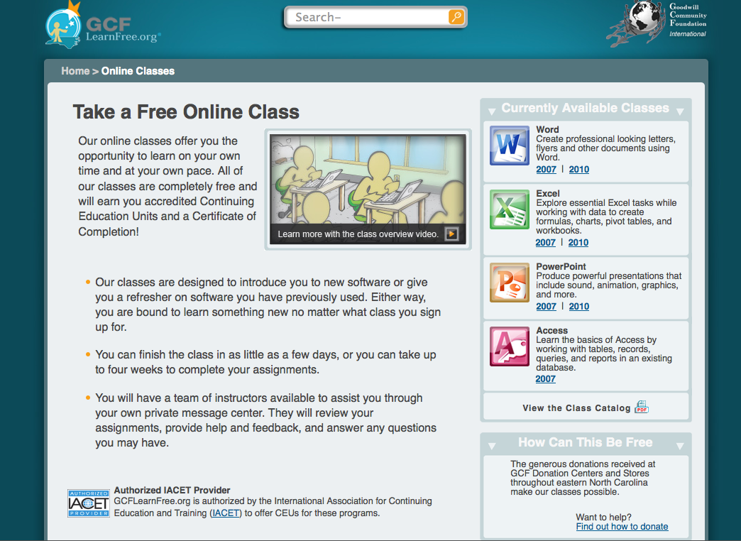 How to Register for GCFLearnFree.org Free Online Classes ...