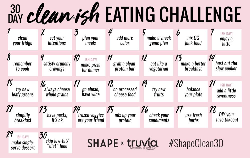 7 diet Funny shape ideas