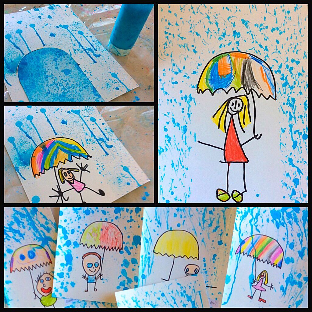 Easy Inside Craft Work Beautiful Pictures By The Kids