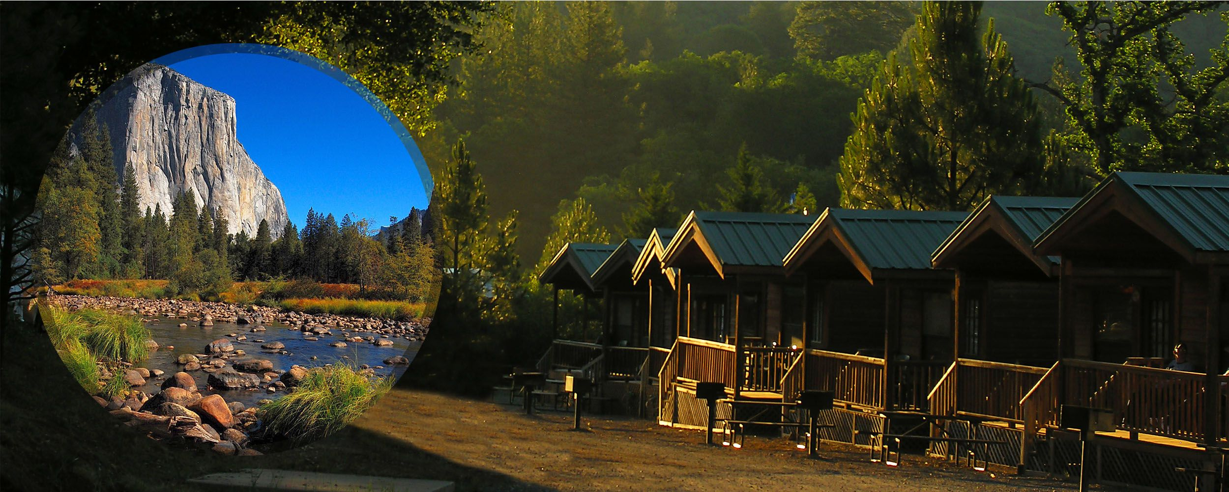 Yosemite National Park Campground Rental Cabins Rv