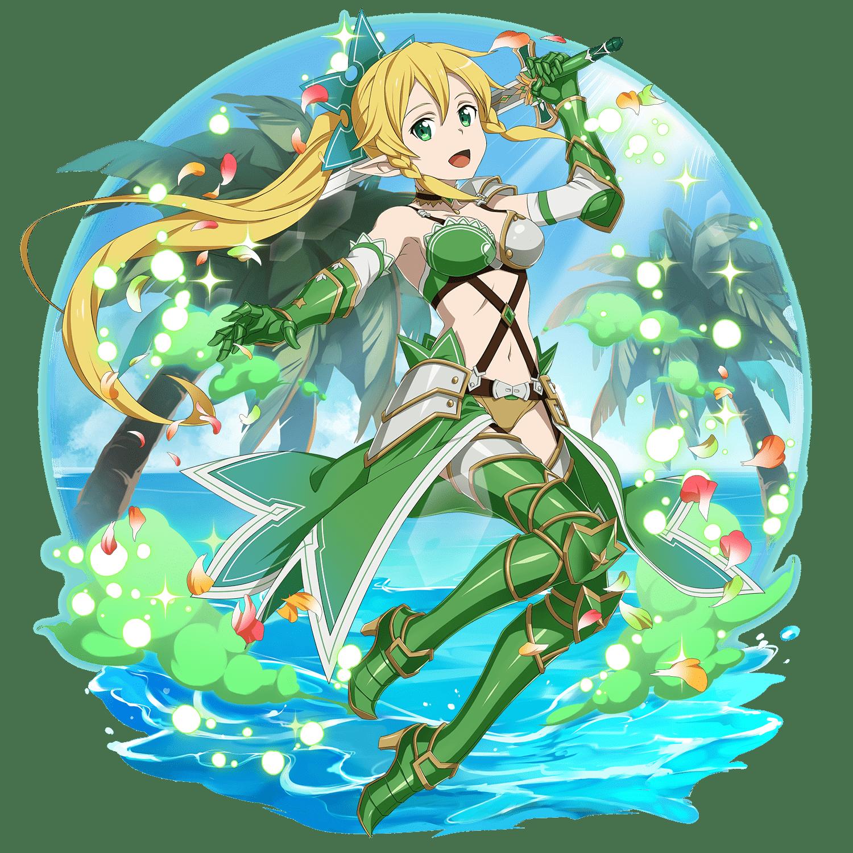 Leafa Enchanting Eternal Summer Warrior Lvl.100 (With images)
