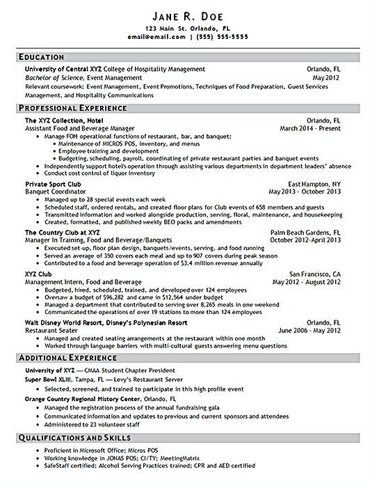 Nurse Manager Resume Hotel Manager Resume Template  Hotel Manager Resume  If You Are