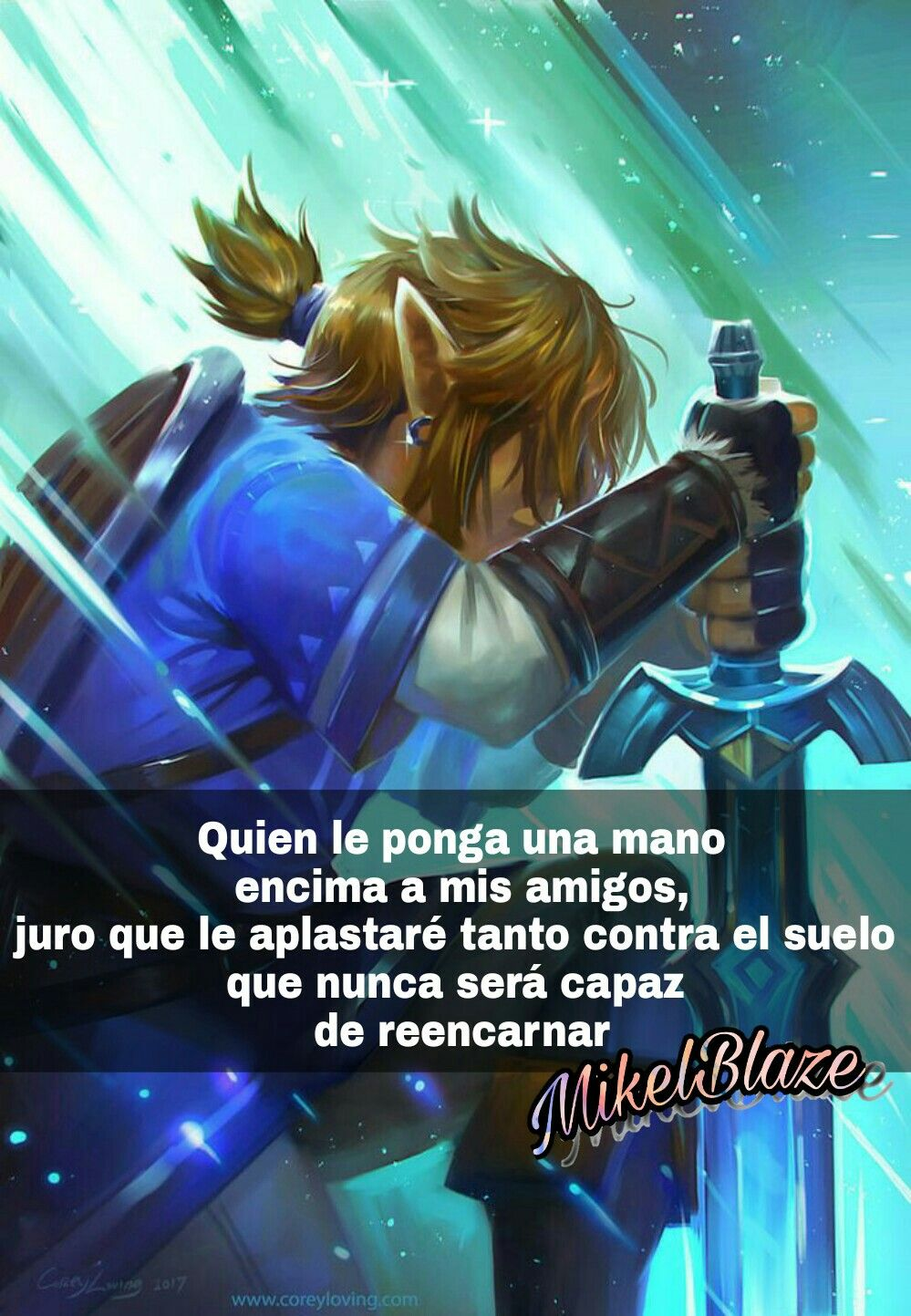 Frases Anime Amistad Proteger The Legend Of Zelda Breath Of The