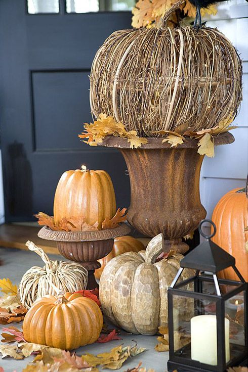 Five Fabulous Fall Porches The Cottage Market Outdoor Decorationsfall