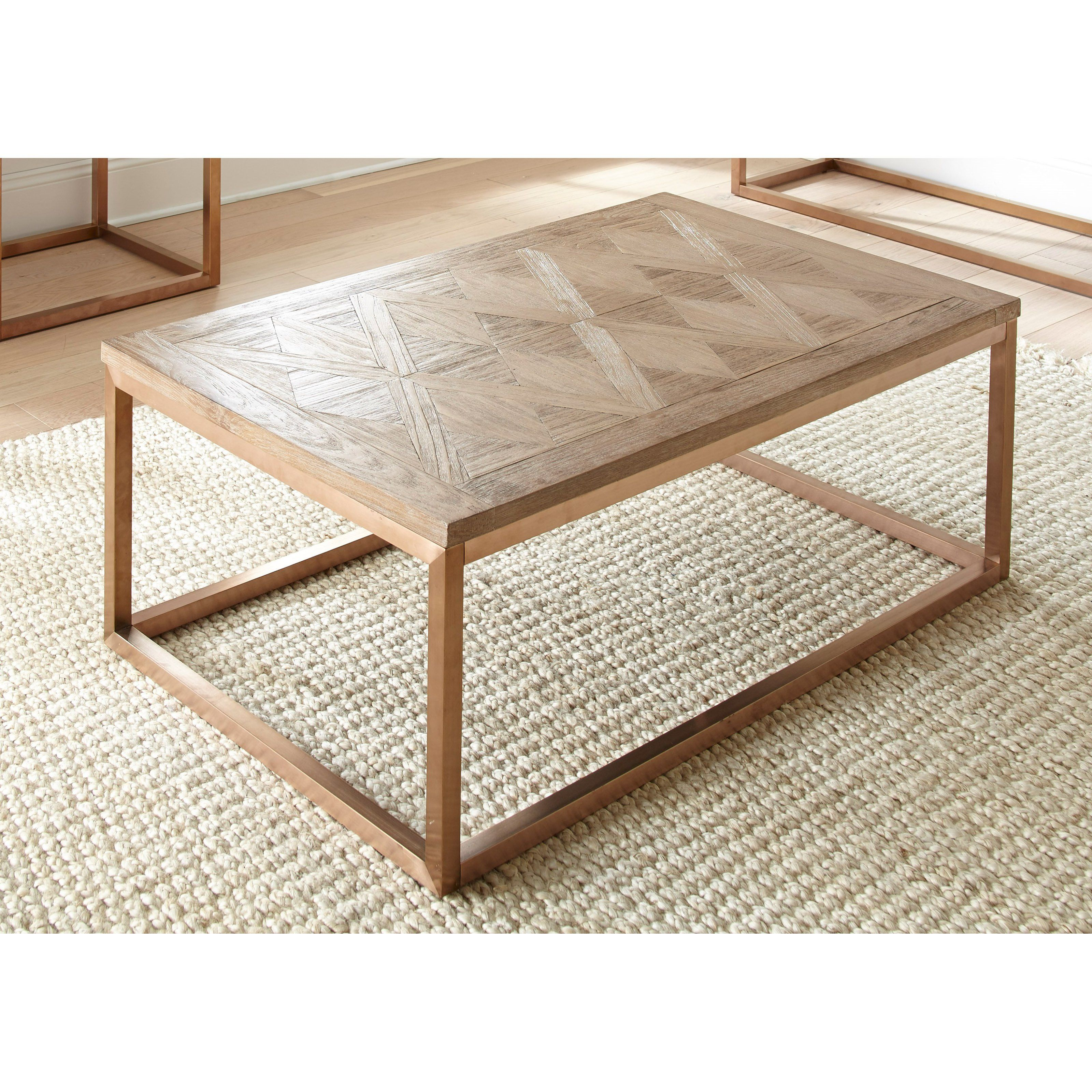 Steve Silver Co Gino Cocktail Table From Hayneedle Com Parquet