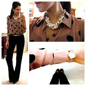 Love this blog! She shows all of her work outfits and where to get the items. Great outfit inspirations!!
