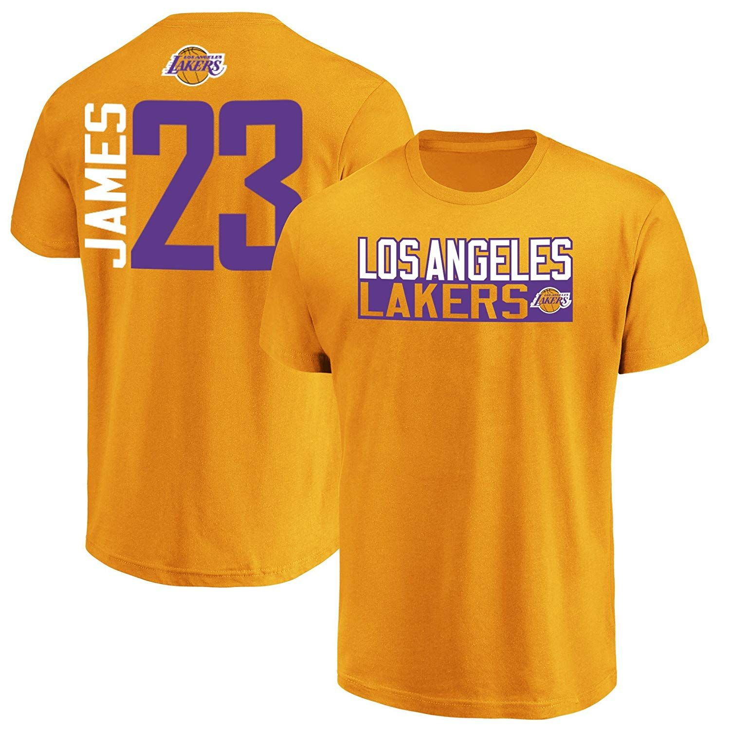 dfe1137cbcc Majestic Lebron James Los Angeles Lakers #23 Mens Vertical Player  TShirtSports amp; Outdoors, Amazon Affiliate link. Click image for detail,  ...