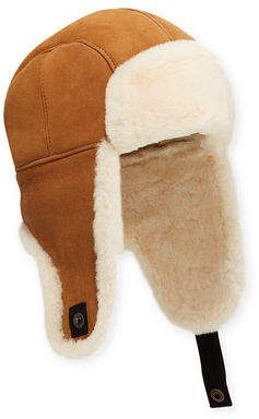 1eef861eb UGG Men's Shearling-Lined Sheepskin Trapper Hat in 2019 | Products ...