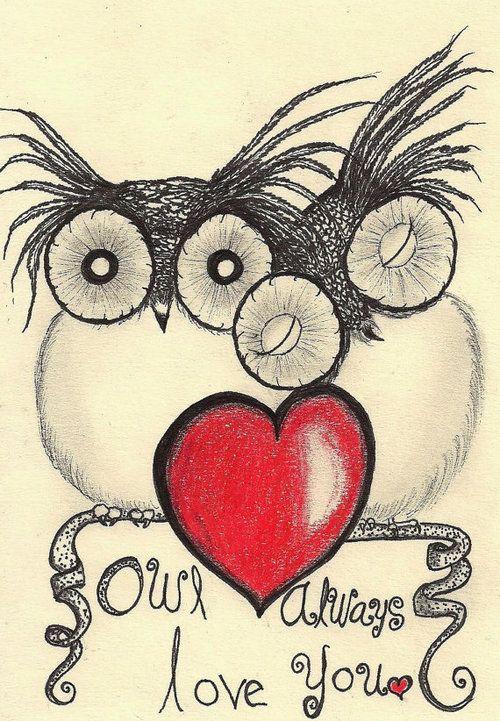 Owl Always Love You Cards Pinterest Corujas Owl E Corujas Lindas