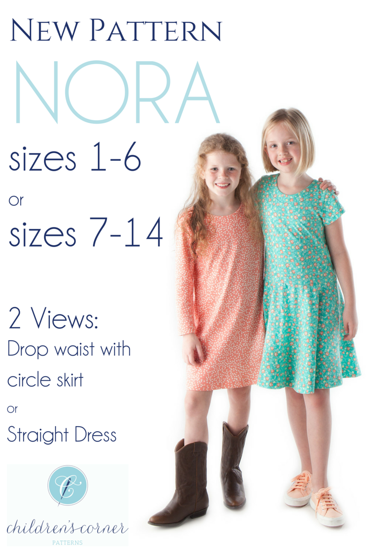 Nora a knit dress in expanded size range of circle skirt or