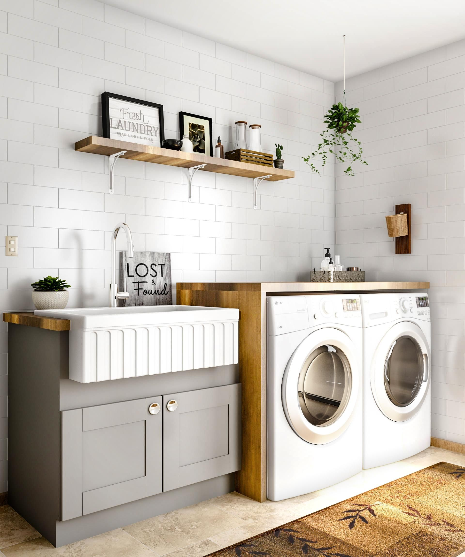 Go For The Extra Details In The Laundry Room That Level Of