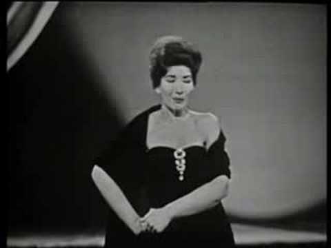 Maria Callas - O mio babbino caro - YouTube